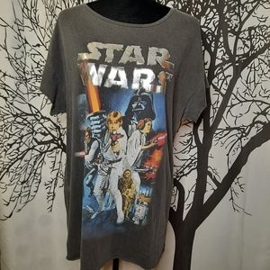 Over sized Retro Style Star Wars T-shirt